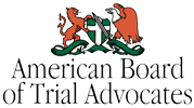 logo for the American Board of trial Advocates